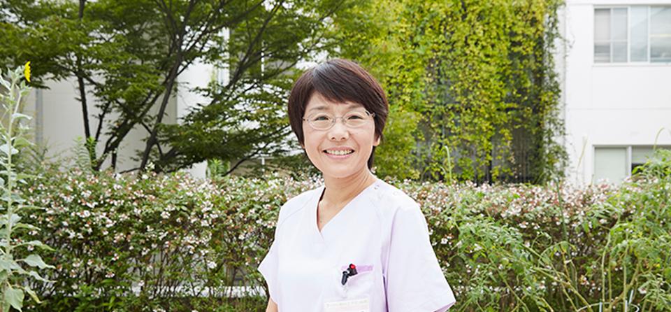 上戸町病院 看護総師長 写真