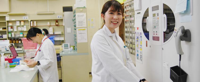 上戸町病院での働き方-薬剤師